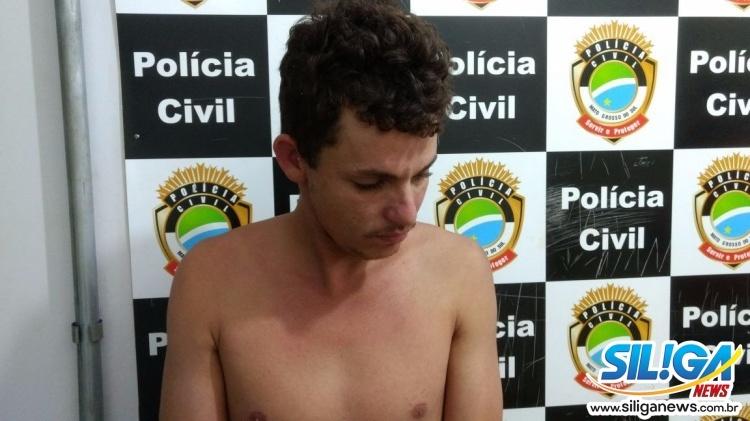Rapaz foi preso após tentativa de roubo(Foto: Osvaldo Duarte)