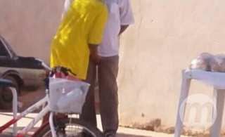 As imagens mostram o abuso sexual no meio da ruaAs imagens mostram o abuso sexual no meio da rua - Celso Daniel/TVC