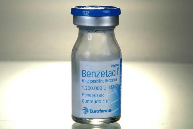 Produção do antibiótico Benzetacil é suspensa para validação