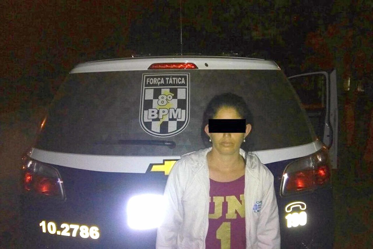 Policiais da Força Tática de Nova Andradina foram os responsáveis pela prisão de S.P, de 40 anos - Foto: Nova News