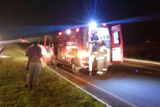 Acidente ocorreu na MS-134, entre Nova Andradina e Batayporã, próximo à curva do Córrego Esperança - Imagem: Nova News