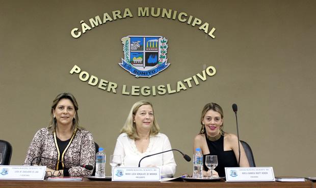 FOTO: PRISCILA CRUZ / ASSESSORIA - Mesa Diretora da Câmara Municpal de Bonito - MS
