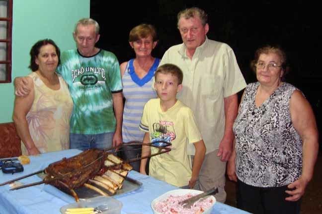 Familia do falecido (foto facebook)