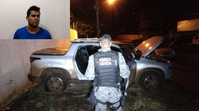 Homem que foi preso mora em Dourados. Fotos: Osvaldo Duarte