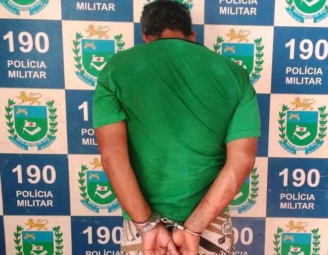 Acusado confessou o ato e disse que já seria a terceira vez que abusava da menina - Foto: Divulgação/PM