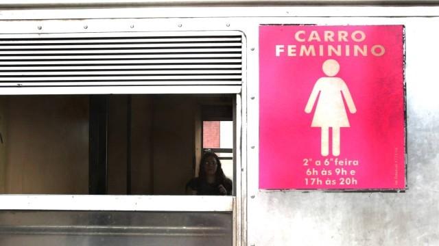 Homens pegos no vagão feminino vão pagar multa Foto: Ana Branco / Agência O Globo