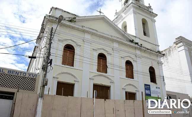 Catedral está interditada desde junho de 2016 e pode reabrir até o final deste ano