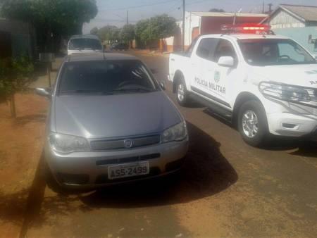 PM não informou o modelo do veículo encontrado - Foto: Divulgação/PM