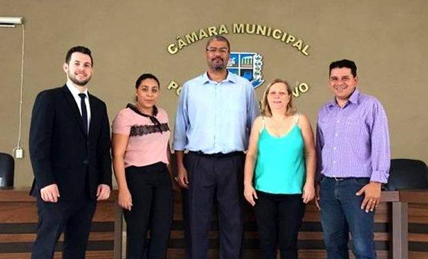 FOTO: PRISCILA CRUZ / ASSESSORIA - Câmara assina contrato com a FAPEC para realização de concurso