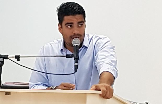 FOTO: ROGÉRIO SANCHES / FÁTIMA NEWS - Diego pede apoio da população e emenda parlamentar para deputado em prol SIAS