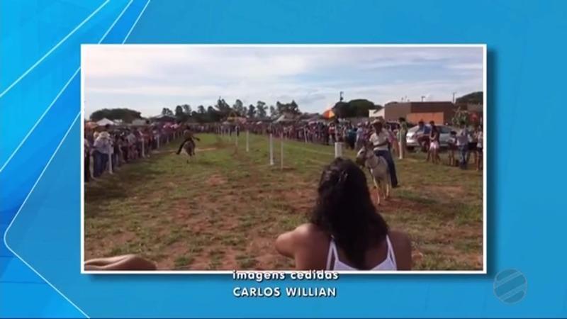 DEODÁPOLIS: Com sucesso total 'Corrida do Jegue' foi destaque na TV Morena para todo o estado do MS