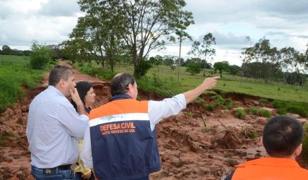 Foto: Rogério Sanches / Fátima News - Em meio a chuvas, Defesa Civil inicia serviço de alerta de desastres naturais via SMS