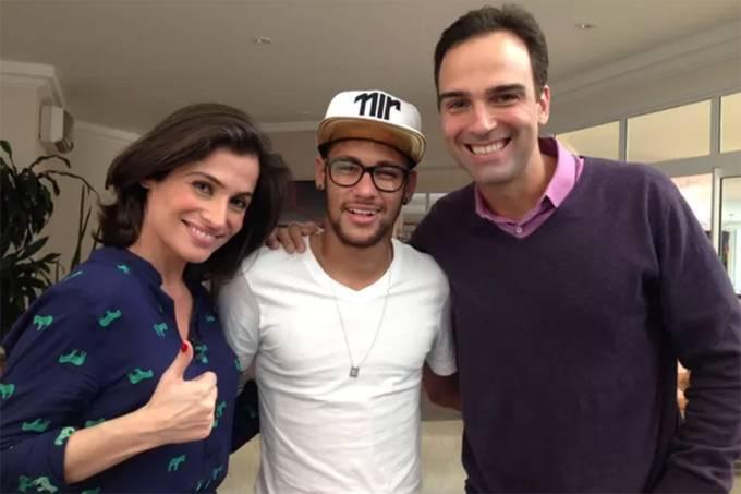 Neymar foi contratado da Globo