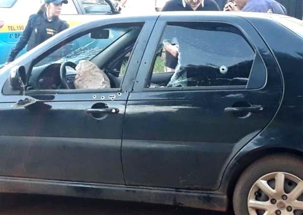 FuzilWescley Vasconcelos estava chegando em casa, na Vila Reno, quando foi assassinado