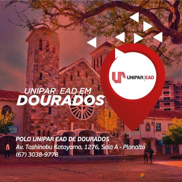 Com 50 cursos entre graduação e pós-graduação, UNIPAR EAD já chega com nome consolidado em Dourados