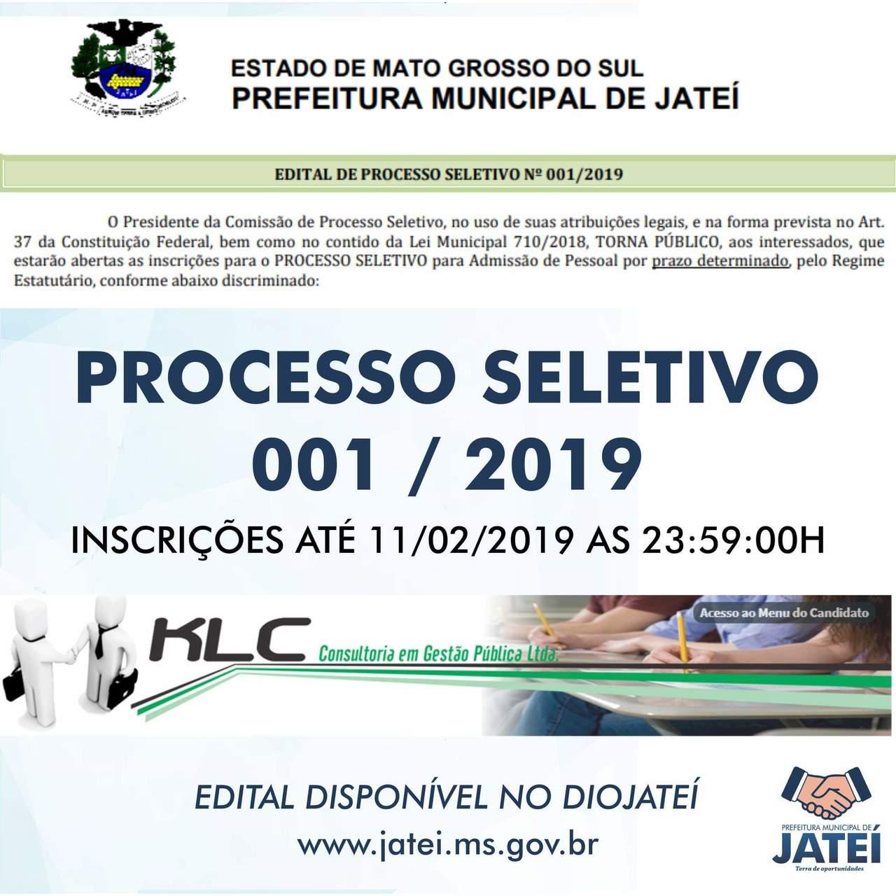 Titulos Lucas Moura: Prefeitura Abre Processo Seletivo Em JATEÍ
